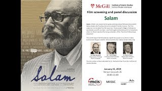 Panel Discussion on Dr. Abdus Salam and Science in Muslim Societies