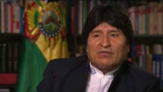 Frost over the World - Evo Morales - 25 Sep 09