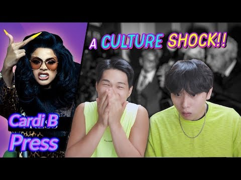 K-pop Artist Reaction Cardi B - Press
