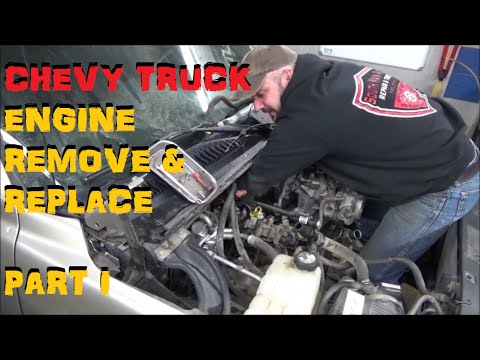 Chevy Truck Engine - Remove & Replace Part I