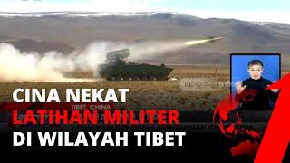 Disaat Bersitegang Dengan India, Cina Nekat Latihan Militer Di Wilayah Tibet | Tvone