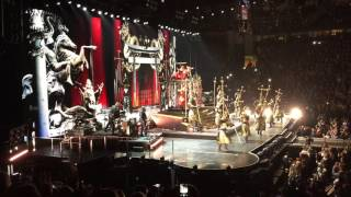 madonna intro iconic rebel heart tour bridgestone arena nashville tn 18 jan 2016