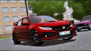 City Car Driving 1.5.5 - Honda Civic Type R 2018   Fast DRIVE   + Download [LINK]   1080p & G27