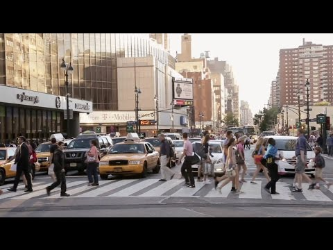 How NYC's streets became more pedestrian-friendly