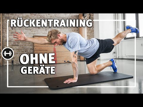 Rückentraining für zu Hause ohne Geräte | Übungen & Workouts | Sport-Thieme