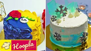 Creative Cake Decorating Ideas | Yummy Chocolate Cake Recipe Tutorial | Hoopla Recipes
