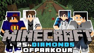Minecraft: 25 Diamonds Of Parkour - Gwiazdy Tańczą Po Lodzie [1/x] w/ GamerSpace, Tomek90, Happy