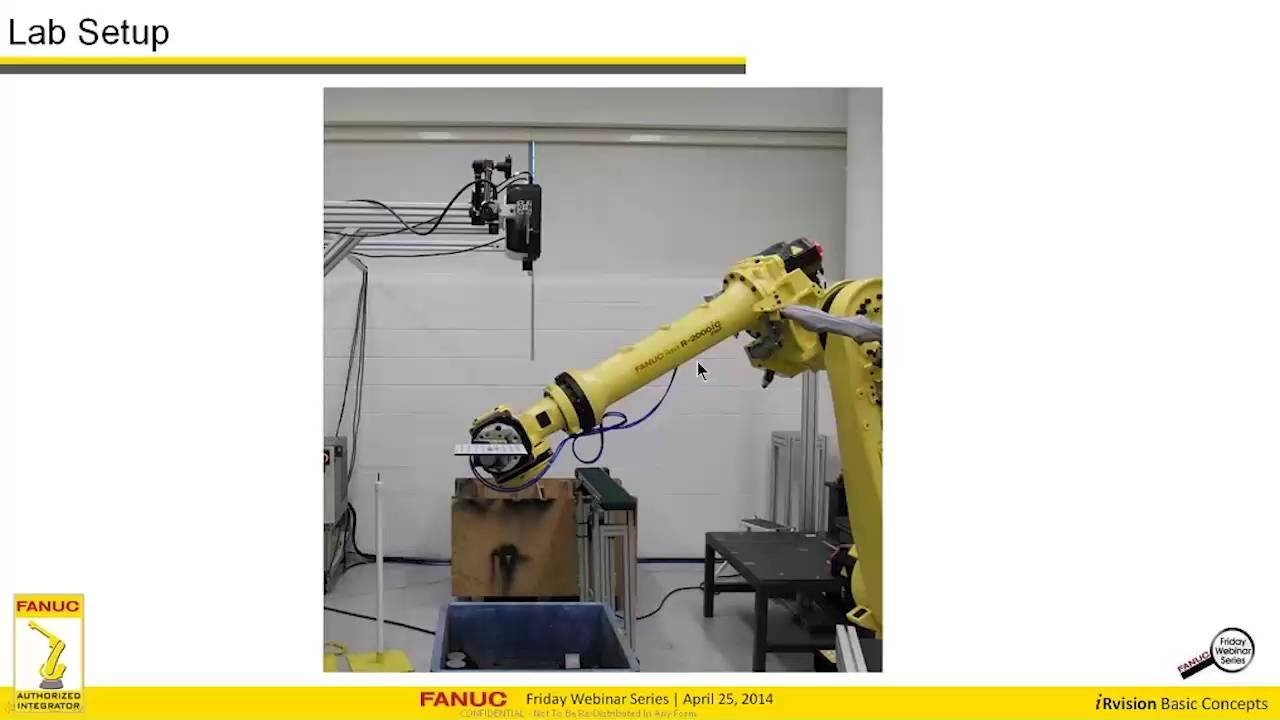 how to set up fanuc irvision 2d guided place to accurately place rh youtube com Fanuc iRVision Logo iRVision Fanuc Camera