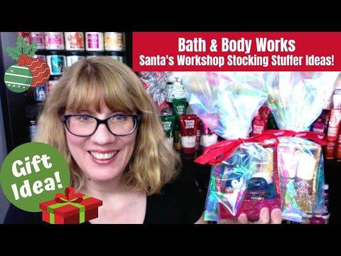 Gift Idea! Bath & Body Works Santa's Workshop Stocking Stuffer!
