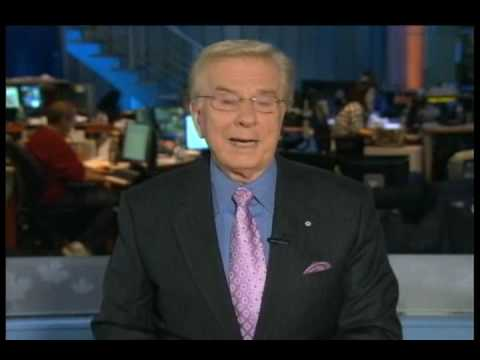 CTV National News Opening with Lloyd Robertson on November 25, 2009