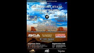 CSI Arizona State Championships Mens 8 Ball  Sean Brooks vs Gilbert Gallegos
