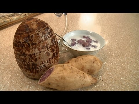 Uyen Thy's Cooking - Chè Bột Lọc Khoai Môn