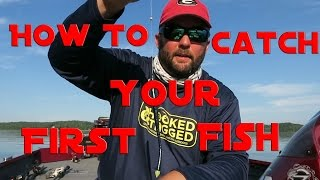 How to Fish - Fisнing for Beginners - How to Catch Your First Largemouth Bass