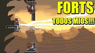 FORTS - DEJÁDMELOS A MI!!! | Gameplay Español