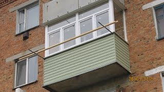 Обшивка балкона сайтингом(, 2015-11-20T07:39:40.000Z)