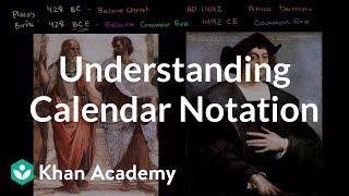 Understanding calendar notation | Cosmology & Astronomy | Khan Academy