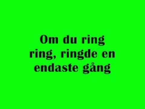 ABBA - Ring Ring - Swedish - Svenska