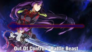 Repeat youtube video ✘(NIGHTCORE) Out Of Control - Battle Beast✘