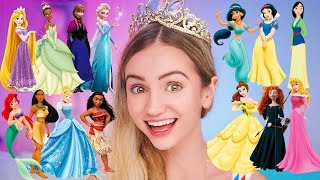 Ranking Every Disney Princess (fixing the Try Guys list)