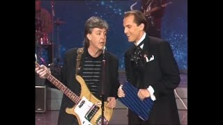 Paul McCartney - Once upon a long ago (Sanremo '88 Serata finale) - live + Interview
