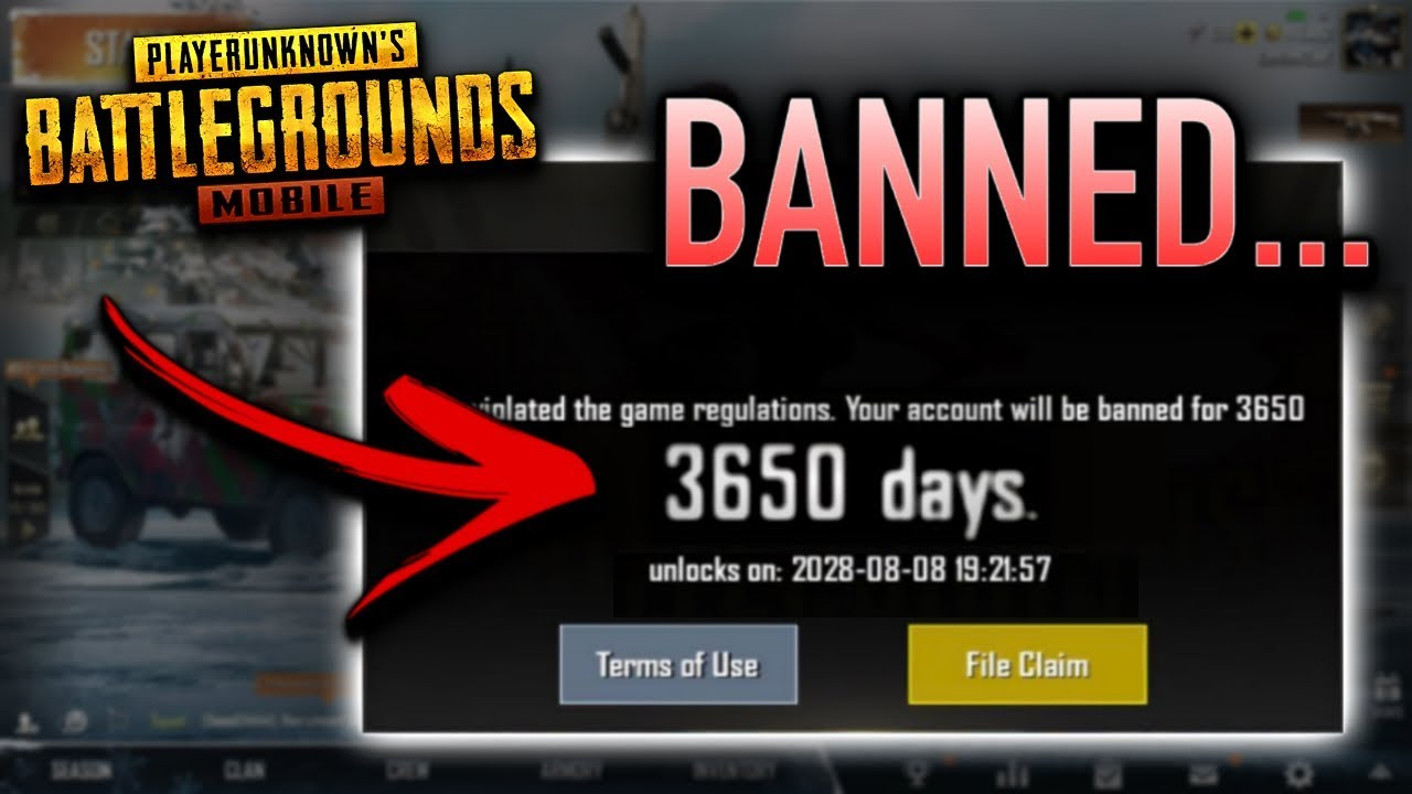 I Got BANNED From PUBG Mobile...