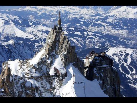 The Aiguille Du Midi 3 842 M 12 605 Ft Youtube