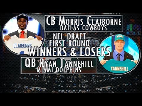 Dallas Cowboys trade up for Morris Claiborne; are they the day one winners of the NFL Draft?