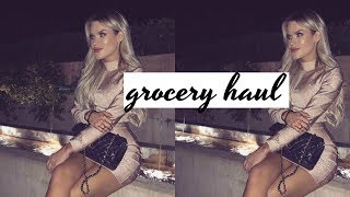 huge whole foods grocery haul, ice face mask review, and best chia seed pudding recipe | DailyPolina