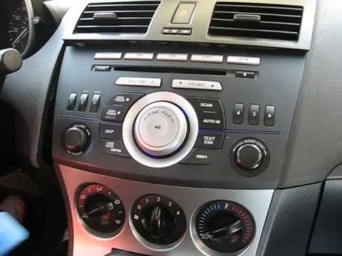 How to Remove Radio / CD Changer / Display from Mazda 3 2010 for Repair