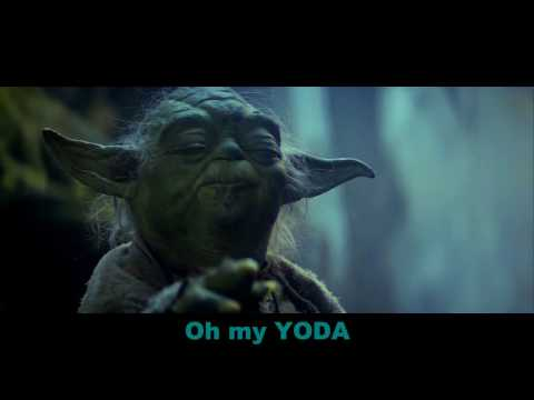 'YODA' by Weird Al Yankovic OFFICIAL Music Video w/Lyrics (STARWARS)