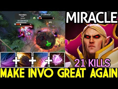 Miracle- [Invoker] Pro Make Invo Great Again Epic Combo 21 Kills 7.21 Dota 2 thumbnail