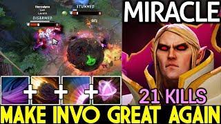 Miracle- [Invoker] Pro Make Invo Great Again Epic Combo 21 Kills 7.21 Dota 2