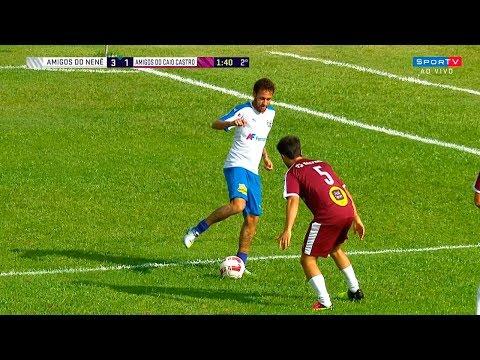 Neymar vs Amigos do Caio Castro HD 1080i (23/12/2017)