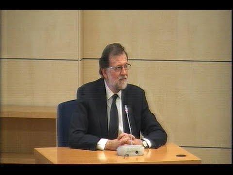Declaración completa de Rajoy en juicio por caso Gürtel