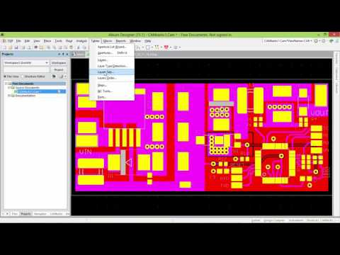 This Video Explain How You Can Transfer Gerber File To Pcb File In Altium Designer.