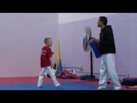 Taekwondo kid - Frederik Emil Olsen. (Denmark)