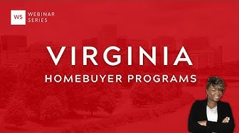 Virginia Home Buyer Programs [Webinar]