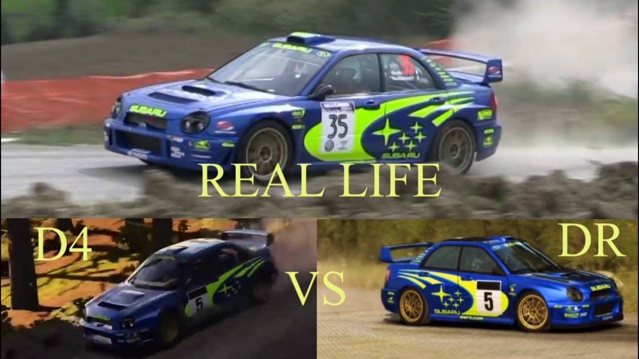 dirt 4 vs dirt rally vs real life sound comparison subaru impreza wrc 2001 youtube. Black Bedroom Furniture Sets. Home Design Ideas