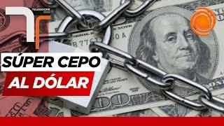 Endurecen el cepo: otro recargo al dólar y nuevos límites en el cupo de $200
