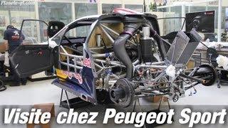 Visite chez Peugeot Sport : Rencontre avec la 208 T16 Pikes Peak | Planete-gt.com