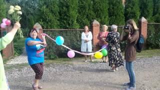 Свадьба в деревне Новосаратовка, утром в 9 00
