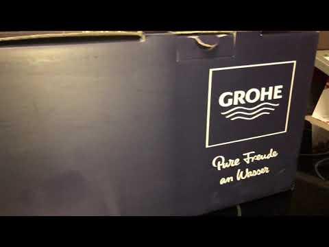 Grohe Set 123 281K Unboxing (распаковка набора смесителей для ванны 3в1)