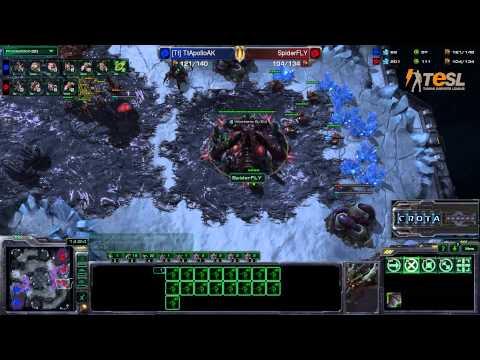 TESL - AK (Z) vs Fly (Z) - StarCraft 2 - Season Two Round Robin - G2