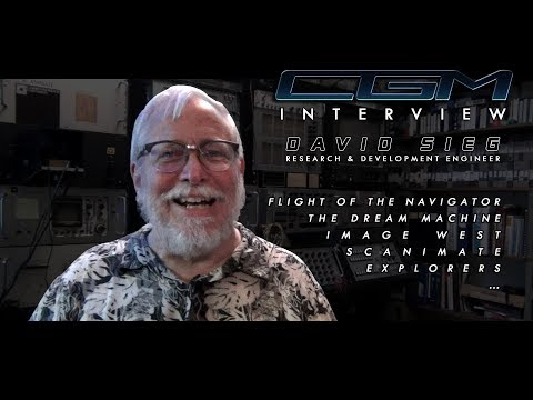 CGM Interviews - Dave Sieg (Scanimate / Explorers / Flight of the Navigator)