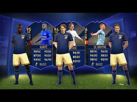 96 TOTY DE BRUYNE, 96 TOTY MODRIC, 95 TOTY KANTE! - FIFA 18 Ultimate Team thumbnail