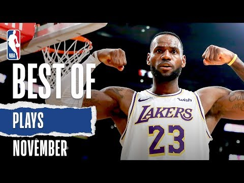 NBA's Best Plays | November 2019-20 NBA Season