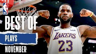 NBA's Best Plays | November 2019-20 NBA Season