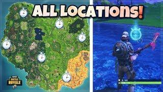 All Time Trials Locations Fortnite(Fortnite Battle Royal Season 6)