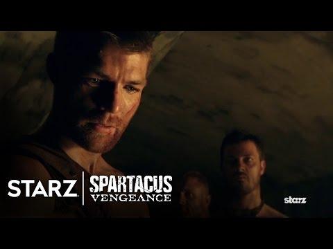 Spartacus: Vengeance  Liam McIntyre as Spartacus  STARZ