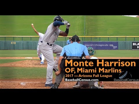 Monte Harrison, OF, Miami Marlins